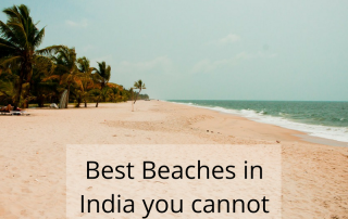 Best Beaches in India you cannot miss!